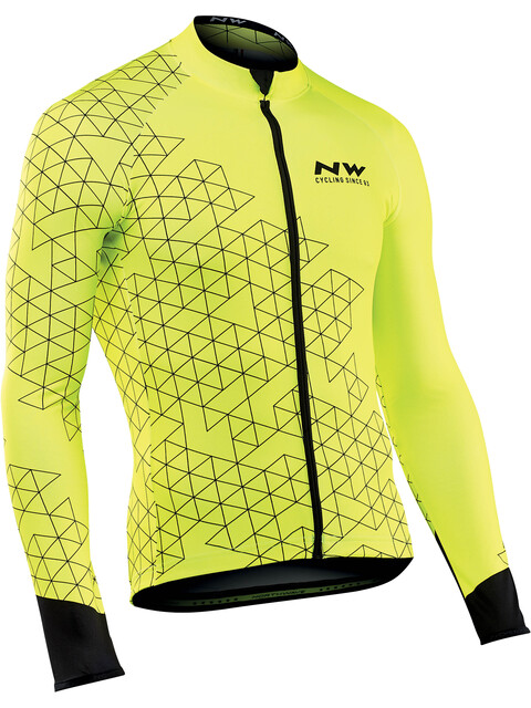 Northwave Blade 3 - Maillot manches longues Homme - jaune